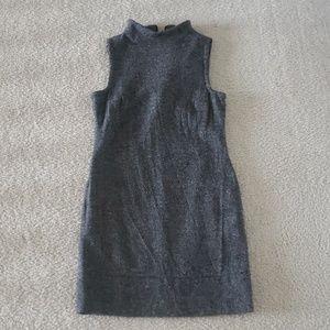 Turtleneck wool dress